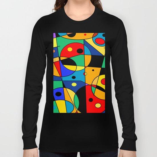 Abstract #58 Long Sleeve T-shirt