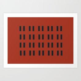 Tromso X Art Print