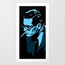Bill Evans Art Print