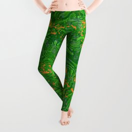 Rainforest Celebration Leggings