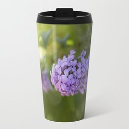 Lilac syringa in LOVE - Spring Tree Flower photography Travel Mug