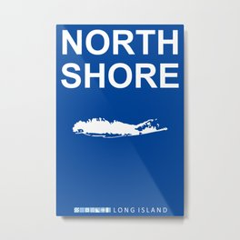 North Shore - Long Island. Metal Print