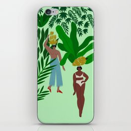 Banana Girls iPhone Skin