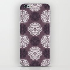 PAISLEYSCOPE posh (purple) iPhone & iPod Skin