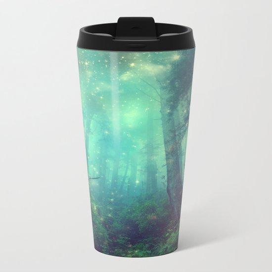 Enchanted Forest II Metal Travel Mug