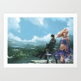 The Luckless Second Age of Retha book Series AM Sohma Art Print