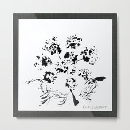 025/100: BULLWORT [100 Day Project 2020] Metal Print