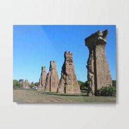 Aqueduc Romain Metal Print