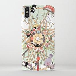 The Sushi Wheel iPhone Case