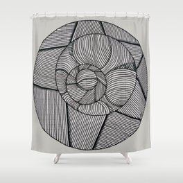 Everything is Connected Shower Curtain