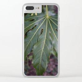 Big Leaf Clear iPhone Case