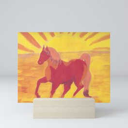 The Red Kelpie Mini Art Print