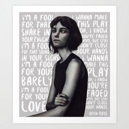 Songs XIX. Art Print