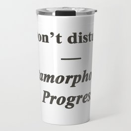 Word Art Travel Mug