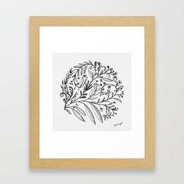 Garden of Possibilities Framed Art Print