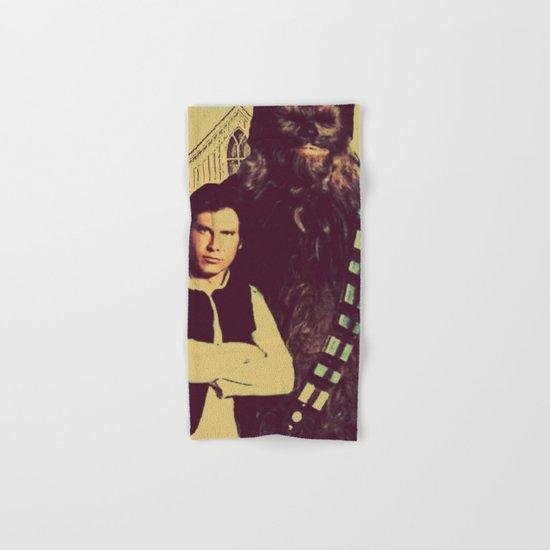 Chewbacca & Han Solo - American Gothic Hand & Bath Towel