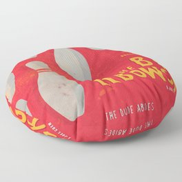 The Big Lebowski - Movie Poster, Coen brothers film, Jeff Bridges, John Turturro, bowling Floor Pillow