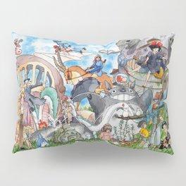 Studio Ghibli Pillow Sham