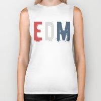 edm Biker Tanks featuring EDM by DropBass