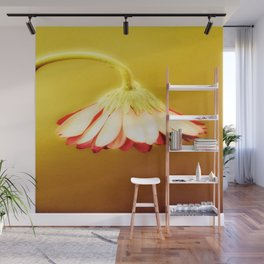 Glowing Yellow Drooping Flower | Nadia Bonello Wall Mural
