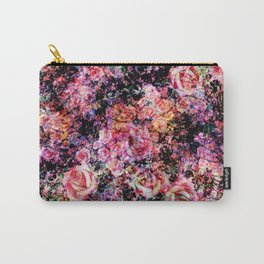 Polychromatic Roses Carry-All Pouch