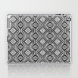 Shades of grey and black pattern A128A Laptop & iPad Skin