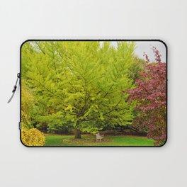 Park Bench Laptop Sleeve