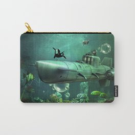 Awesome submarine Carry-All Pouch