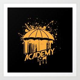 The Umbrella Academy Art Print