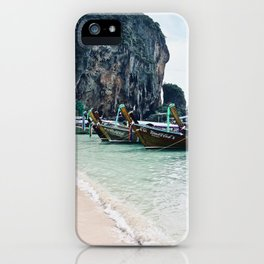 Railay Longtails iPhone Case