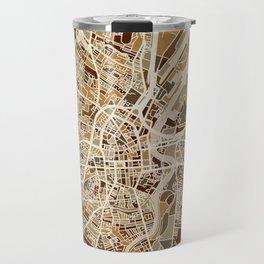 Belfast Northern Ireland City Map Travel Mug