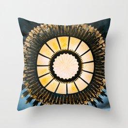Casa Batllo Gaudi Throw Pillow