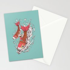Ride with Koi Stationery Cards