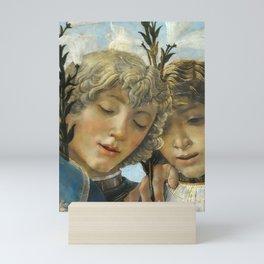 Sandro Botticelli - Angels 1. detail Mini Art Print