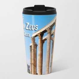 Temple of Olympian Zeus - Athens Greece Travel Mug