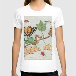 Insects and Fruits (1660-1665) by Jan van Kessel T-shirt