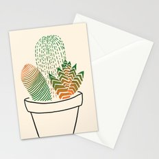 Succulent Study Stationery Cards
