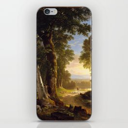 The Beeches - Asher Brown Durand iPhone Skin