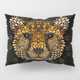 Cheetah Face Pillow Sham