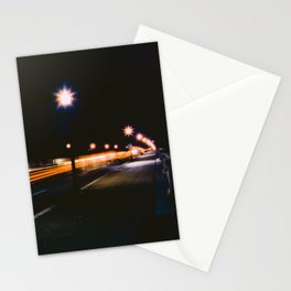 Memorial Bridge Long Exposure Stationery Cards