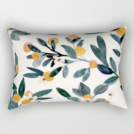 Clementine Sprigs Rectangular Pillow
