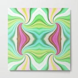334 - Abstract Paper Design Metal Print