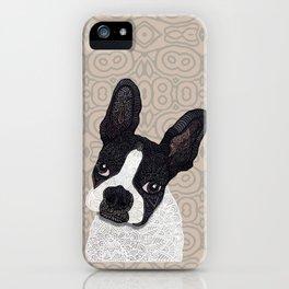 Boston Terrier 2015 iPhone Case