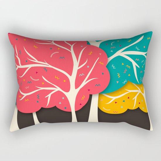 Happy Forest Rectangular Pillow