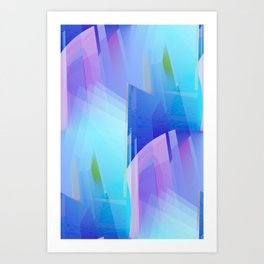 for sheer curtains and more -17- Art Print