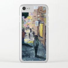 Knife City Clear iPhone Case
