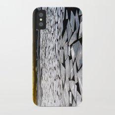 Broken ice floes iPhone X Slim Case