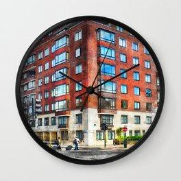 London city art 1 #london #city Wall Clock