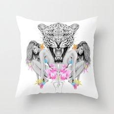 Wilderness no.1 Throw Pillow