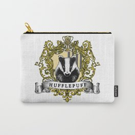 Hufflepuff Color Crest Carry-All Pouch